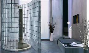 Душевые из стеклоблоков — стильно, практично, удобно!
