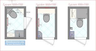 Планировка уборной вместе с интернет магазином сантехники Komforter