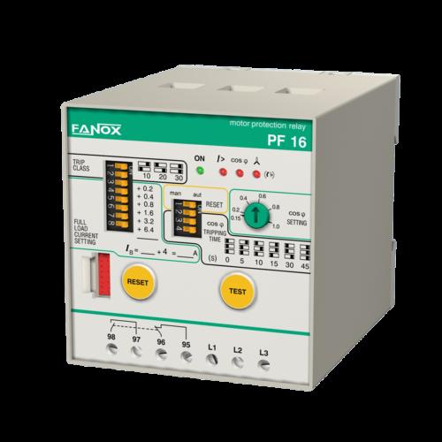 Реле защиты двигателя FANOX PF-R/PS-R