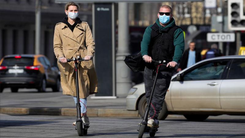 Двухколесная эпидемия: в России подскочил спрос на электротранспорт
