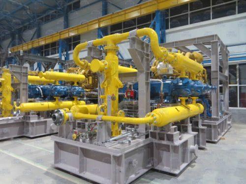 Поршневые компрессорные установки среднего и высокого давления